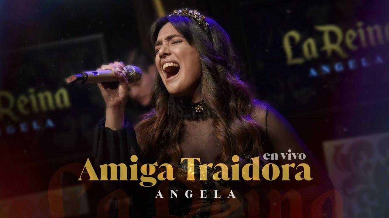 Angela Leiva - Amiga Traidora (En Vivo)