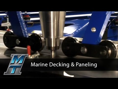 Friction Stir Welder for Marine Decking & Paneling