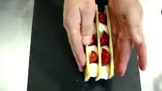 Рецепт вкуснейшего мильфея с клубникой! Сладкий десерт, который легко готовить.
