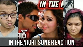 In the Night Song REACTION | Badrinath Songs | Allu Arjun | Tamanna | RECit Reactions