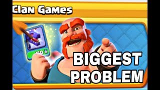 Biggest problem ever in Clan game 24th-30Dec (Clash of Clans)