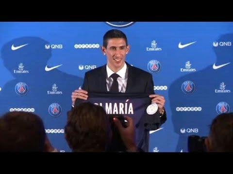 PSG presenta a Di María