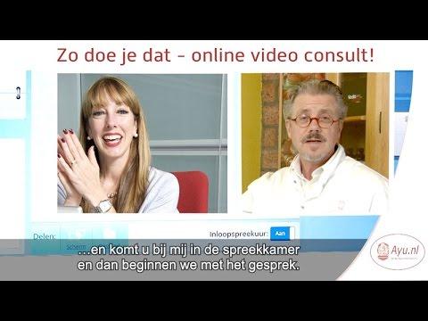 Zo doe je dat - online video consult via computer en smartphone