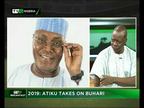 TVC Breakfast 12th September 2017 | Atiku takes on Buhari