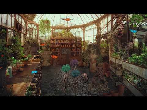 Herbology Classroom Greenhouse [ASMR] Harry Potter Ambience ⚡Relaxing nature sounds