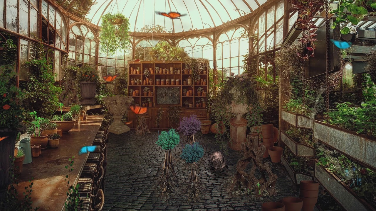 Herbology Classroom Greenhouse Asmr Harry Potter Ambience