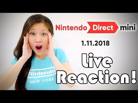 Download Youtube: BIG REVEAL! [Nintendo Direct Mini 1.11.2018] LIVE REACTION