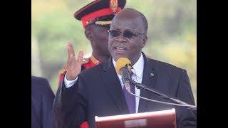 Rais Magufuli Azindua Uwanja wa Ndege wa Kagera