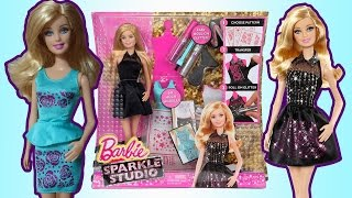 Дизайн платья для Барби // Fashionable dress for Barbie 2017