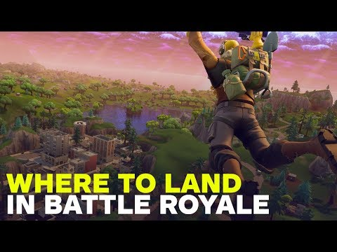 Where to Land in Fortnite Battle Royale
