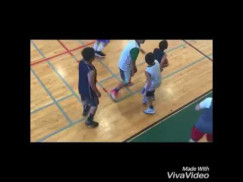 Eric Ye Class of 2024 basketball highlights / lowlights Dolphin Basketball Queens vs Brooklyn