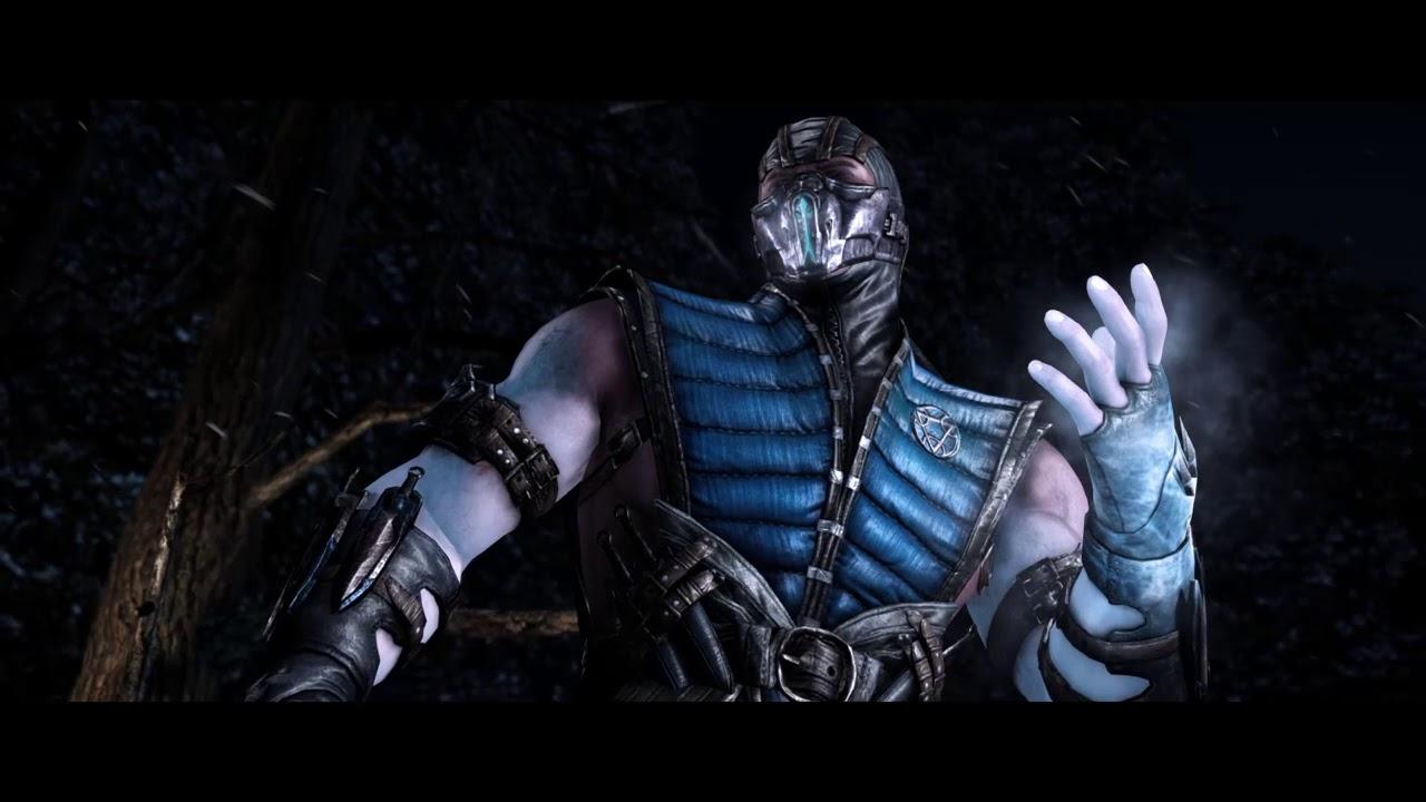 Скорпион против саб-зиро - YouTube