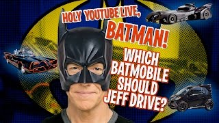 Holy YouTube Live, Batman! Which Batmobile Should Jeff Drive? | JEFF DUNHAM thumbnail