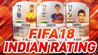 FIFA 18 - TOP 5 INDIAN PLAYER RATING