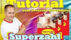 Tutorial zum Senioren Kartenspiel Superzahl - Vorbereitung & Spielanleitung