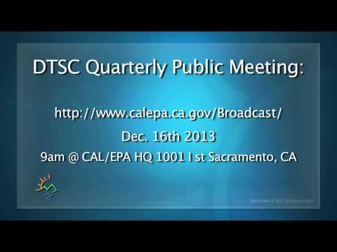 DTSC Public Meeting