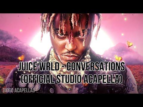 Juice WRLD – Conversations (Official Acapella – Studio Vocals)