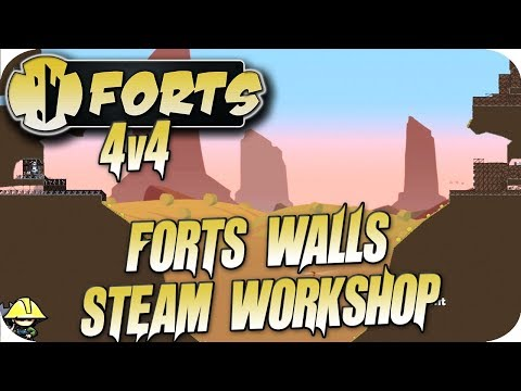 Forts Multiplayer 4v4 Gameplay Forts Wall, North of the Wall Forts Workshop