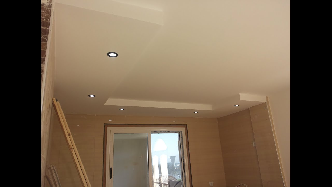 Decoration placoplatre apartement simple ba13 by rdn for Model faux plafond platre