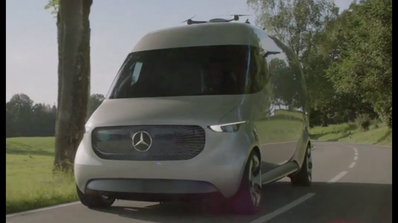 Mercedes-Benz Vision Van Concept Trailer - YouTube