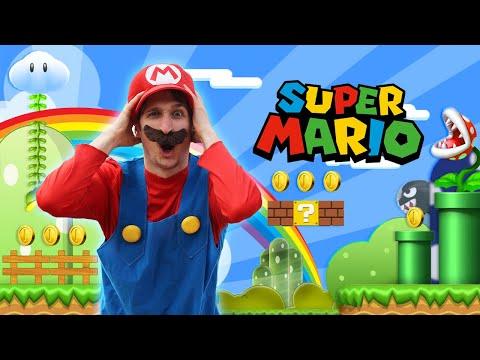 Super Mario Bros - Becoming Mario IN REAL LIFE