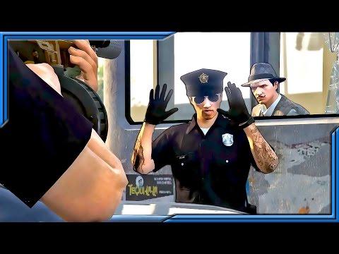 Rookie Officer Taken Hostage   BREAKIN' THE LAW   Ep. 14 (GTA 5 CINEMATIC)