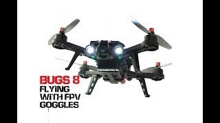 MJX BUGS 8 fpv flying