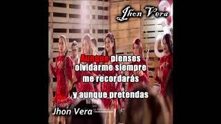 Mix morena Corazon serrano Pista Karaoke gratis full