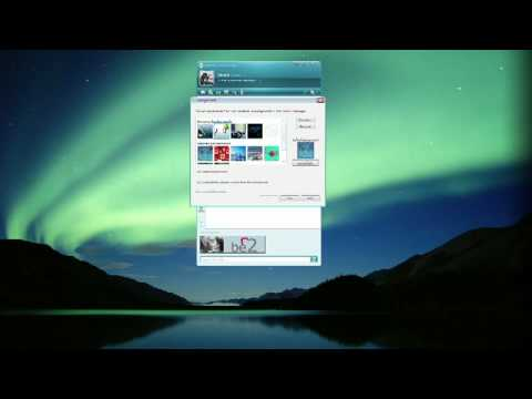 How To Use Internet Messenger Programs : How To Change MSN Messenger Backgrounds