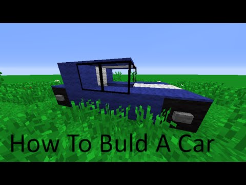 minecraft how to build a car youtube. Black Bedroom Furniture Sets. Home Design Ideas