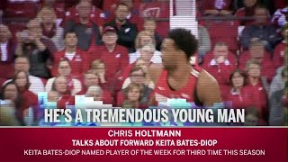 Coach Holtmann Talks Keita Bates-Diop thumbnail
