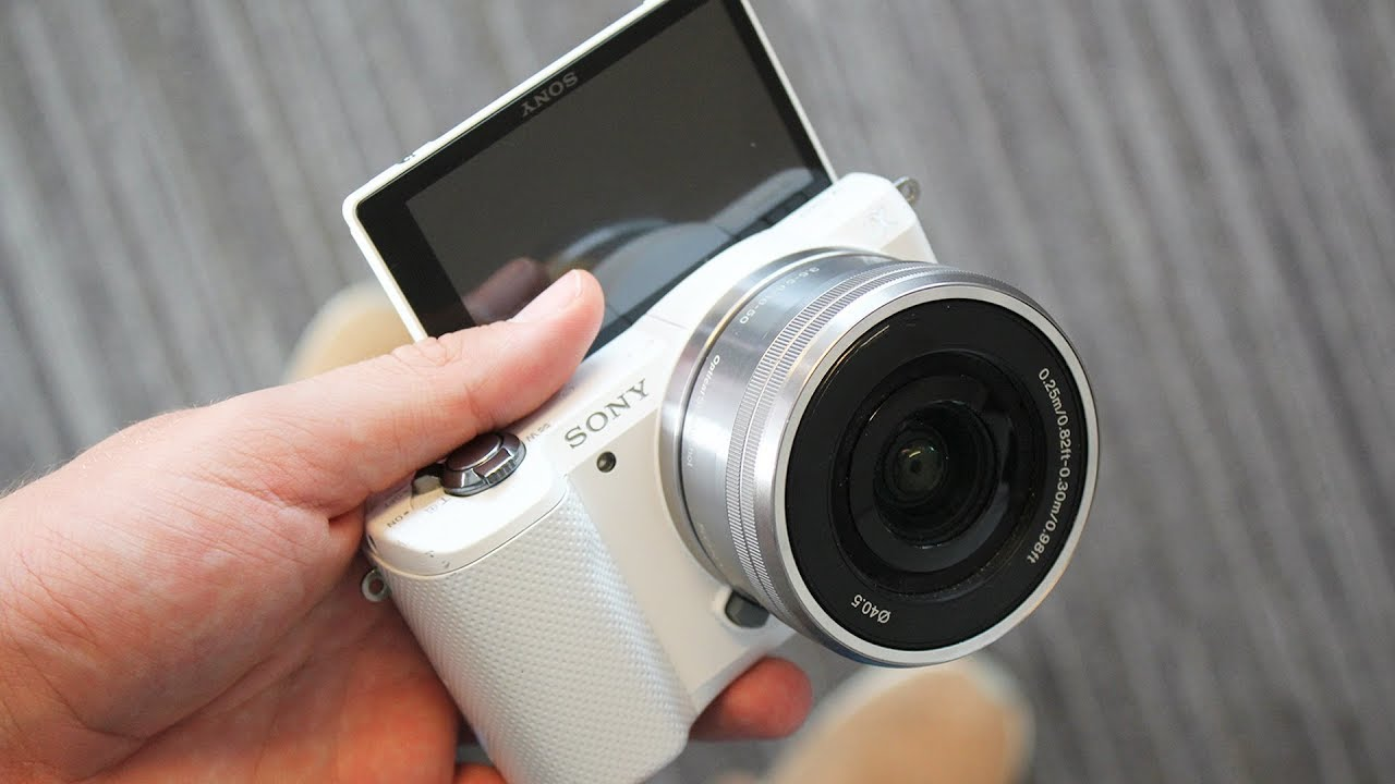 Beste Vlog Camera Voor 250 Sony A5000 Review Youtube