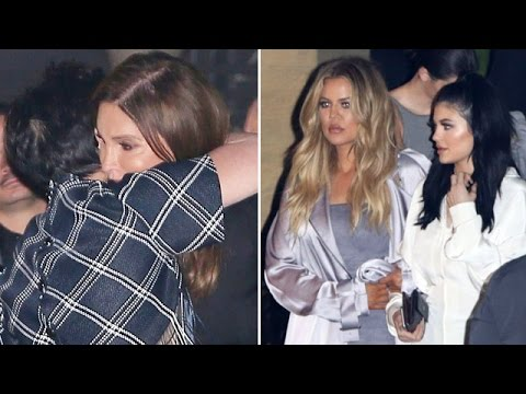 Kris And Cait Reunite At Kylies 18th Birthday Dinner