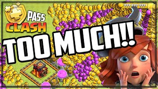 TOO MUCH LOOT - I Can't Play Clash of Clans!