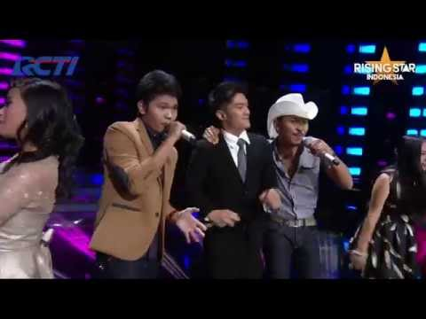 "All Contestant ""Have Fun Go Mad"" Blair - Rising Star Indonesia Super 9 Eps 19"