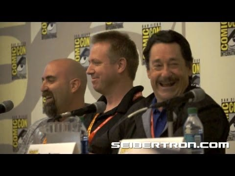Activision Transformers Fall of Cybertron Panel featuring Video Game Talent at SDCC 2012 3\/8
