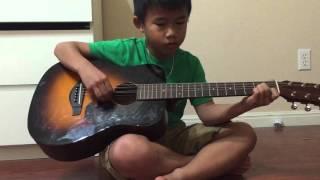Một ngay khong co em - guitar practice