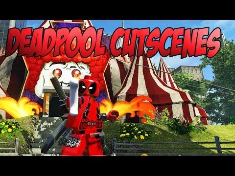 Lego Marvel Super Heroes Deadpool Bonus Mission Cutscenes- HD - YouTube