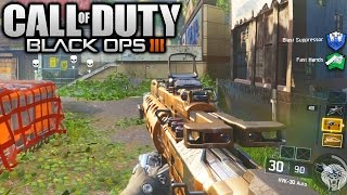 Black Ops 3: MULTIPLAYER GAMEPLAY! Hardpoint On Evac w/ HVK-30 Assault Rifle (Multiplayer Gameplay)