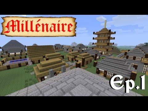 Minecraft 1 1 с Модом Millenaire