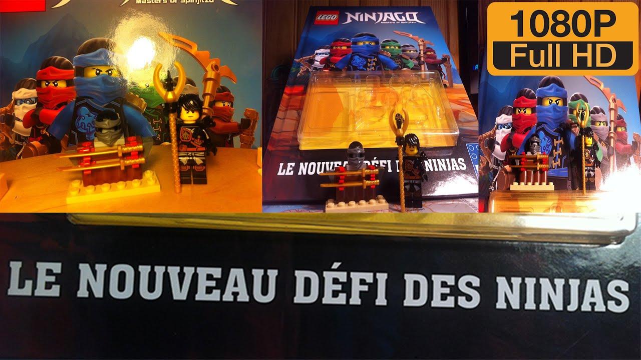 Ouverture Livre Lego Ninjago Le Nouveau Defi Des Ninjas