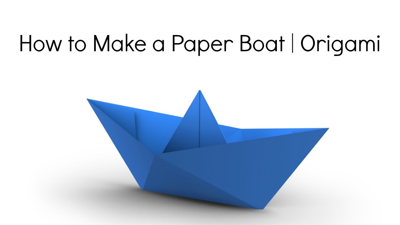 how to make an origami boat Today i'm going to show you how to make origami boats when made with waterproof paper like waxed paper or cellophane these origami boats will actually float use them in the bathtub or in a.