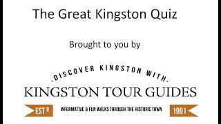 The Great Kingston Quiz