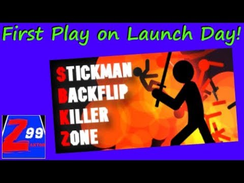 """Stickman Backflip Killer Zone - How Can Blowing Up Stick Figures """"Not"""" Be Fun?"""