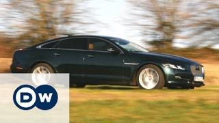 Die Schwebekatze: Jaguar XJ   Motor mobil