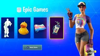 How To Get 14 DAYS OF SUMMER FREE REWARDS (FREE ITEMS) Fortnite CHALLENGES & SKINS | RELEASE DATE