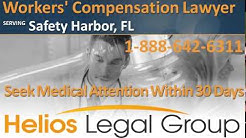 Safety Harbor Workers Compensation Lawyer & Attorney, Florida