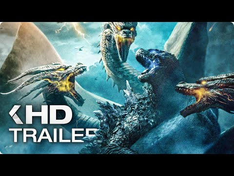 godzilla-2:-king-of-the-monsters---12-minutes-trailers-&-clips-(2019)