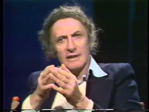 Marcel Marceau speaks about mime