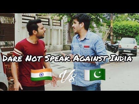 Dare Not Speak Against India | INDIA VS PAKISTAN 2017 | RealSHIT